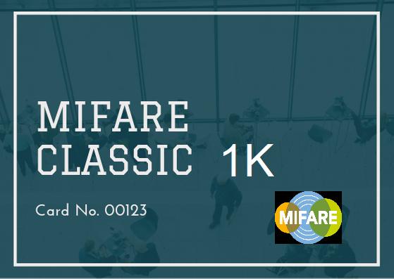 NXP Mifare® Classic 1K (Blank Card)