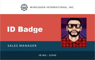 ID Badge on Mifare® card